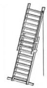 Фото товара Лестница приставная телескопическая ЛПТ 10 м